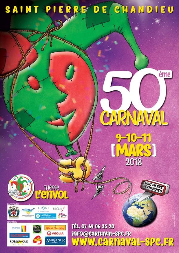 50ème carnaval de St. Pierre de Chandieu : dimanche 11 mars 2018