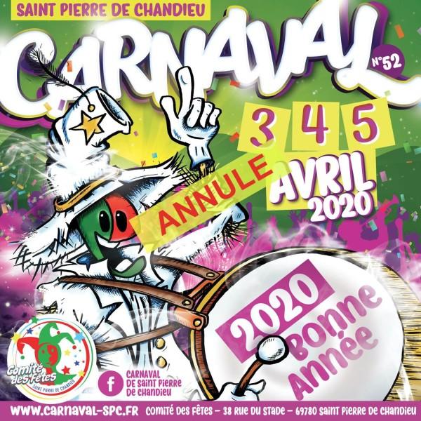 CARNAVAL St Pierre de Chandieu  – Dimanche 5 avril 2020 – ANNULE